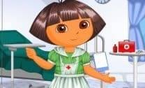 A enfermeira Dora