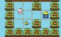 Abelhas no Jardim da Hello Kitty