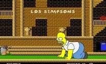 Ação com os Simpsons