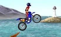 Acrobacias na moto
