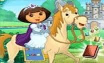 Andar de cavalo com Dora