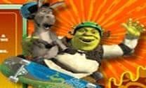 Andar de skate com Shrek