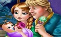 Anna e Kristoff Bebê Alimentação