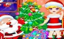 Árvore de Natal Peluda