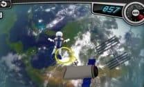 Astronauta pelo espaço