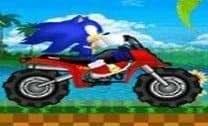 Aventura de Sonic na moto