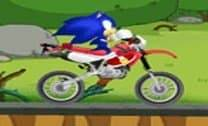 Aventura na moto do Sonic