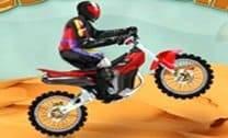 Aventuras de moto no deserto