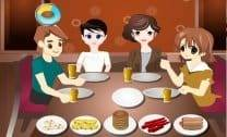 Banquete de familia
