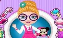 Barbie Bebê Penteados Da Escola