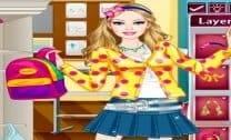 Barbie colegial