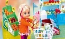 Barbie e seu filhote