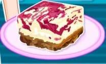 Barbie Jelly Swirl Cheesecake Slice