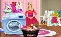 Barbie Lavando Roupa