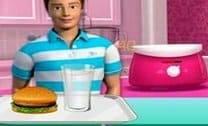 Barbie Loja De Hambúrguer