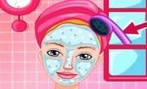 Barbie tratamento facial