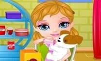 Bebê Barbie Adota Um Pet