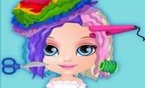 Bebê Barbie Cabelos Loucos