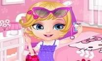 Bebê Barbie Cartão Selfie