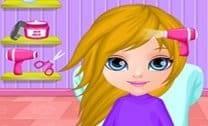 Bebê Barbie Penteado Manga
