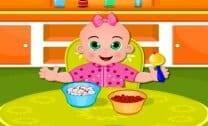 Bebê Emily Na Creche