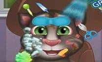 Bebê Talking Tom Grande Makeover