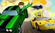 Ben 10 and Spongebob Puzzle