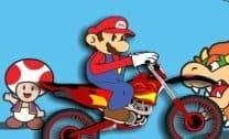 Bicicleta com o Mario