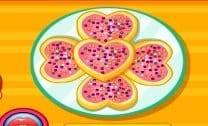 Biscoitos de coração