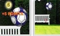 Bola de Futebol no Ar