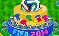 Bolo Da Copa Do Mundo D FIFA 2014