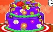 Bolo De Aniversário Floral