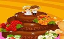 Bolo De Chocolate Do Casamento