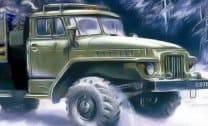 Caminhão com carga em 3D