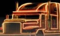 Caminhão de Presentes Led