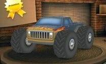 Caminhão Monstro 3D