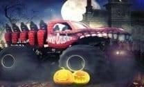 Caminhão Monstro Caçada No Halloween