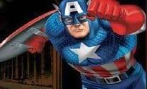 Capitão America salvando Washington