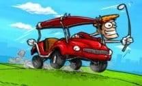 Carro no Campo de Golfe
