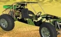 Carro no Deserto 3D