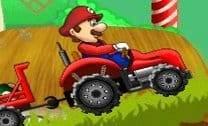 Colher cogumelos com o Mario