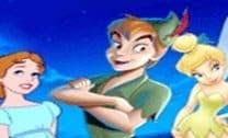 Colorir Peter Pan e Sininho