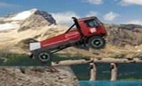 Controlar o Caminhão nas montanhas