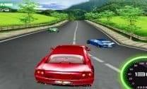 Corrida com Ferrari 3D