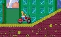 Corrida com o Homer