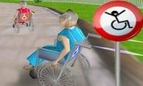 Corrida De Cadeiras De Roda