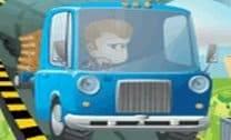 Corrida de caminhão eletrizante