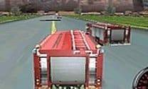 Corrida de caminhões de bombeiros