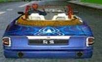 Corrida de carro do homem-aranha