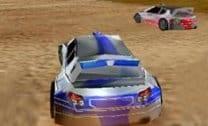 Corrida de carro rápido